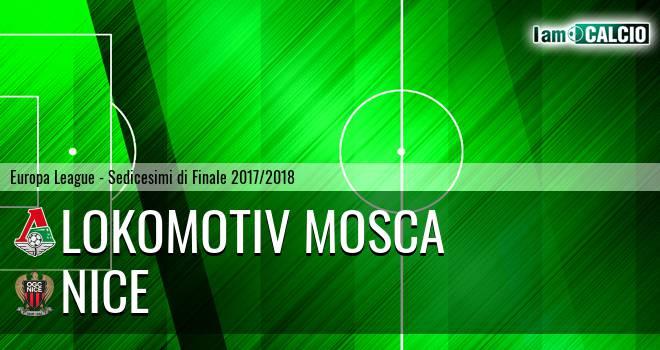 Lokomotiv Mosca - Nizza