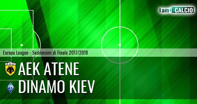 AEK Atene - Dinamo Kiev