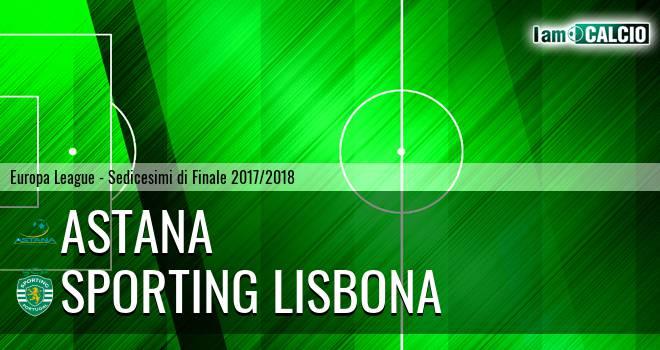 Astana - Sporting Lisbona