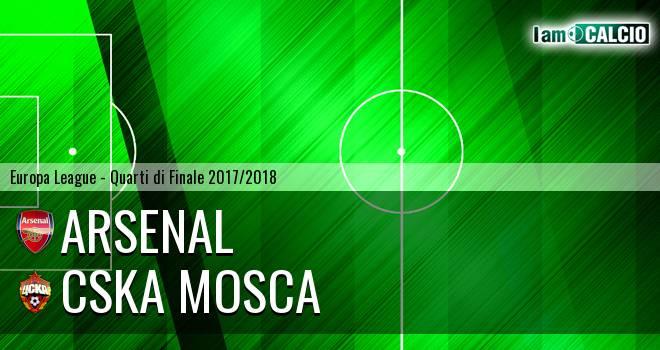 Arsenal - CSKA Mosca