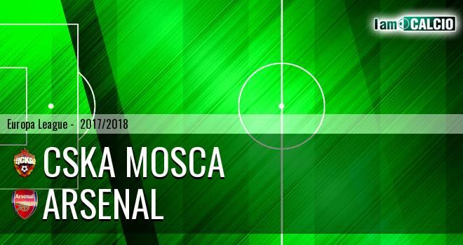 CSKA Mosca - Arsenal