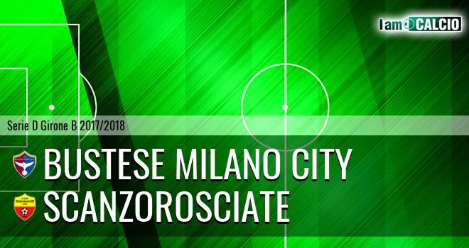 Bustese Milano City - Scanzorosciate