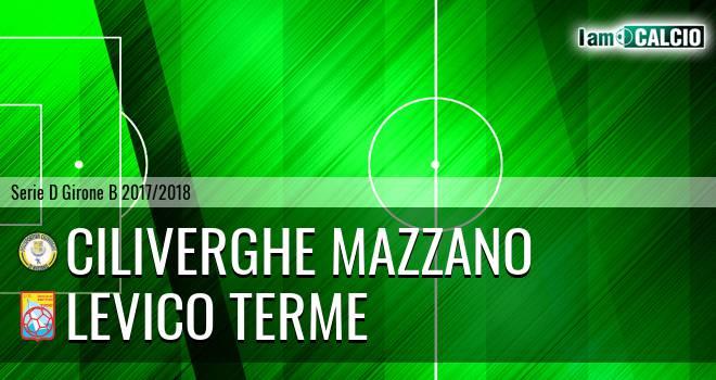 Ciliverghe Mazzano - Levico Terme 3-0. Cronaca Diretta 04/04/2018