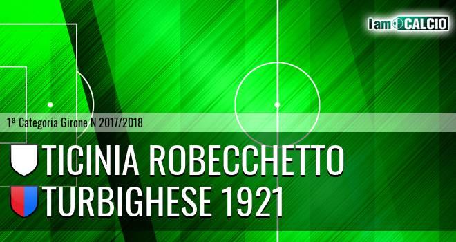 Ticinia Robecchetto - Turbighese 1921