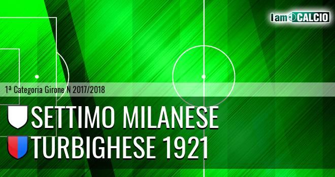 Settimo Milanese - Turbighese 1921
