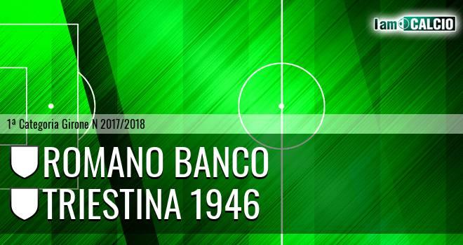 Romano Banco - Triestina 1946