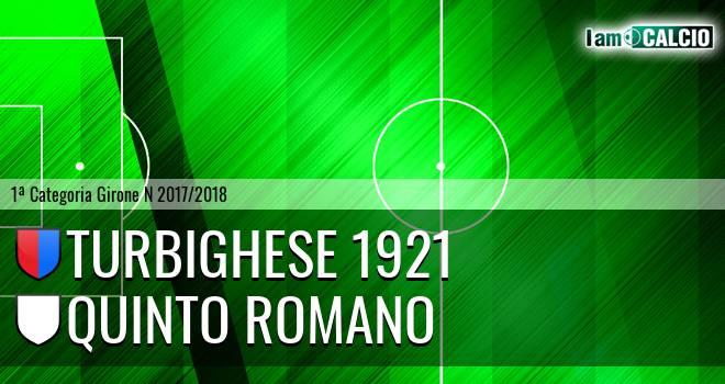 Turbighese 1921 - Quinto Romano