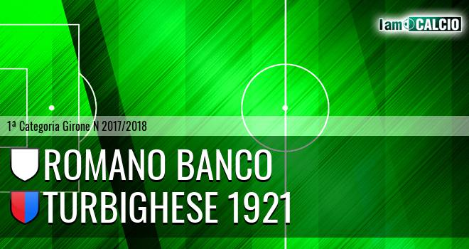 Romano Banco - Turbighese 1921