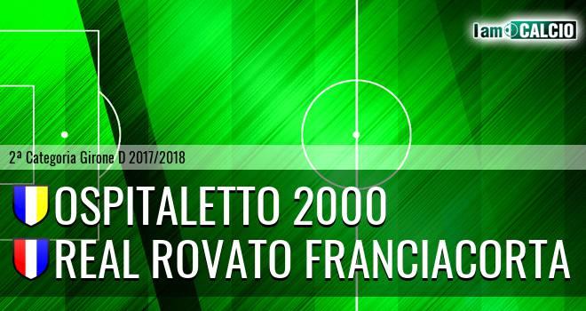 Ospitaletto 2000 - Real Rovato Franciacorta