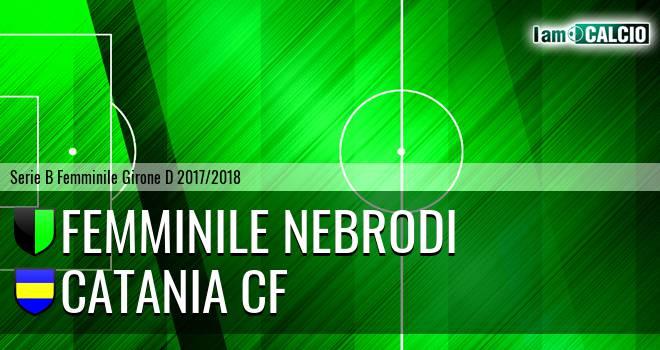 Femminile Nebrodi - Catania CF