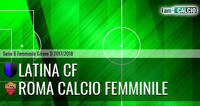 Latina CF - Roma Calcio Femminile