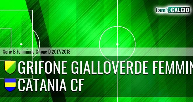 Grifone Gialloverde Femminile - Catania CF