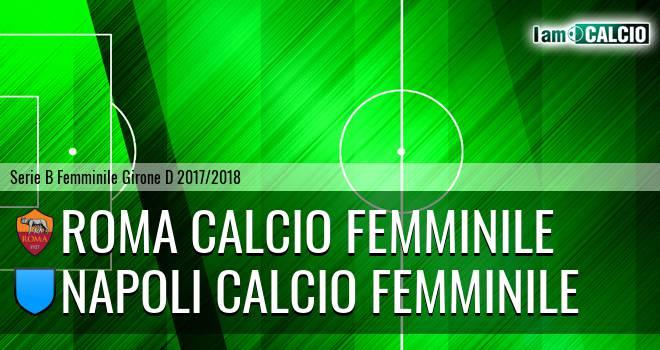 Roma Calcio Femminile - Napoli Calcio Femminile