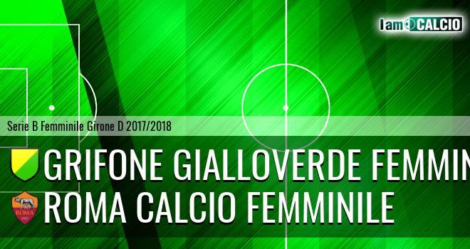 Grifone Gialloverde Femminile - Roma Calcio Femminile