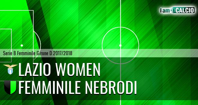 Lazio Women - Femminile Nebrodi