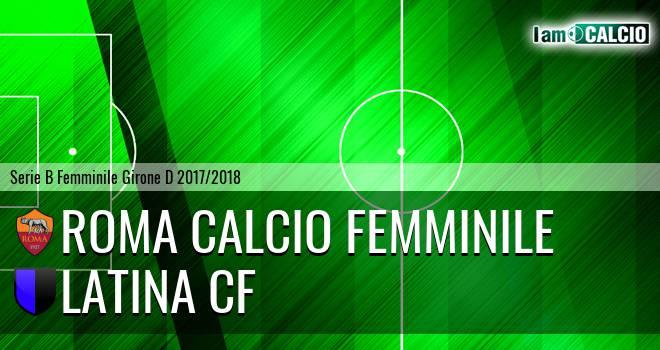 Roma Calcio Femminile - Latina CF