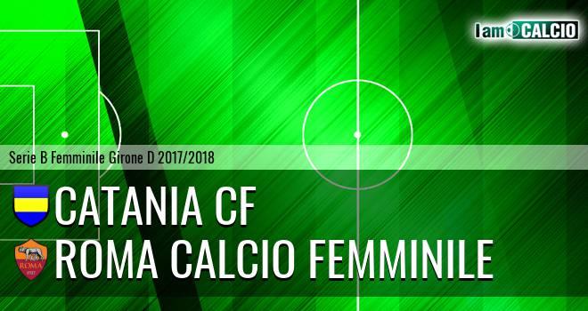 Catania CF - Roma Calcio Femminile