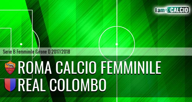 Roma Calcio Femminile - Real Colombo