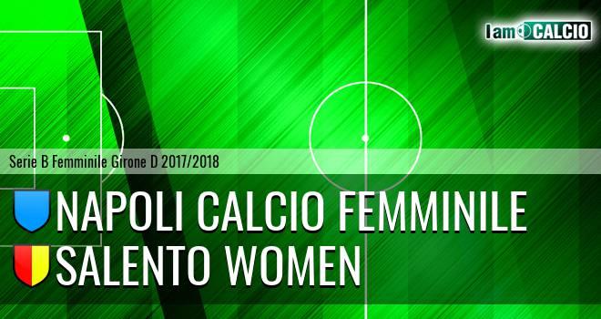 Napoli Calcio Femminile - Salento Women