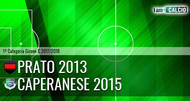 Prato 2013 - Caperanese 2015