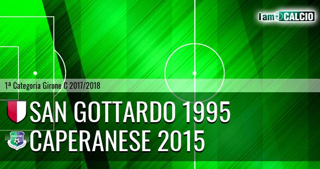 San Gottardo 1995 - Caperanese 2015