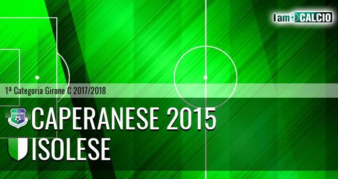 Caperanese 2015 - Isolese