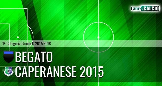 Begato - Caperanese 2015