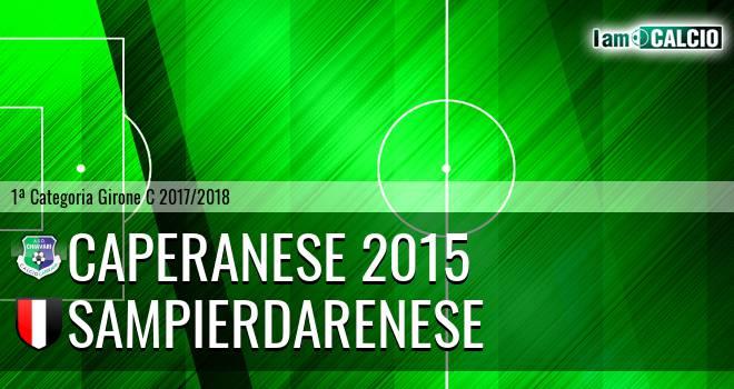 Caperanese 2015 - Sampierdarenese