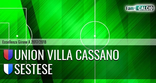 Union Villa Cassano - Sestese