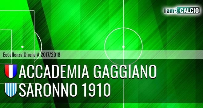 Accademia Gaggiano - Saronno 1910