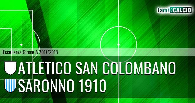 Atletico San Colombano - Saronno 1910