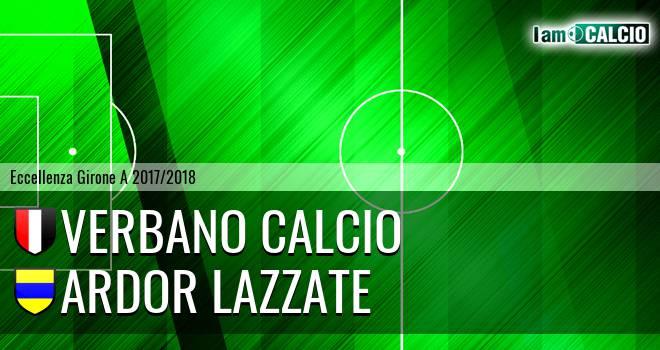 Verbano Calcio - Ardor Lazzate