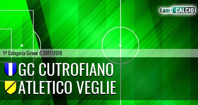 GC Cutrofiano - Atletico Veglie