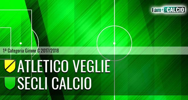 Atletico Veglie - Secli Calcio