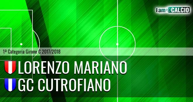 Lorenzo Mariano - GC Cutrofiano