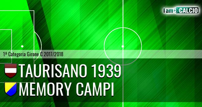 Taurisano 1939 - Memory Campi