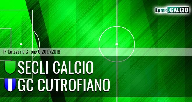 Secli Calcio - GC Cutrofiano