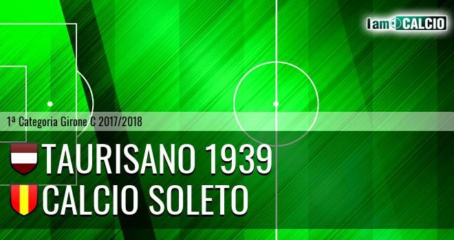 Taurisano 1939 - Calcio Soleto