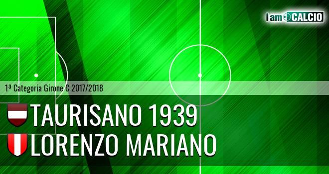 Taurisano 1939 - De Cagna 2010