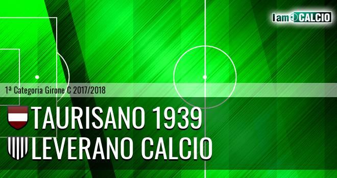 Taurisano 1939 - Leverano Calcio