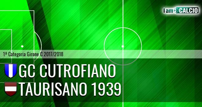 GC Cutrofiano - Taurisano 1939
