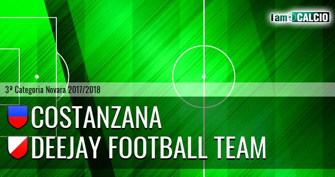Costanzana - Deejay Football Team