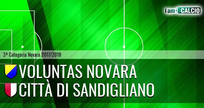 Voluntas Novara - Città di Sandigliano