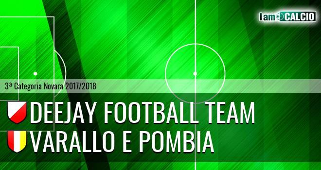 Deejay Football Team - Varallo E Pombia