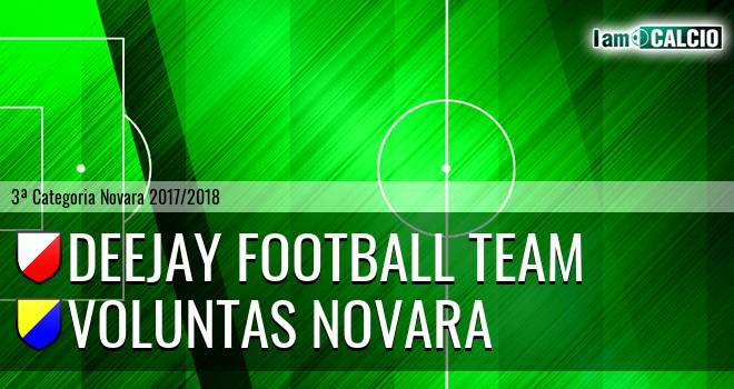 Deejay Football Team - Voluntas Novara