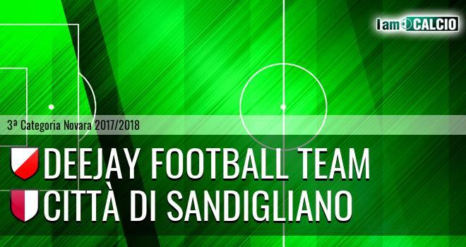 Deejay Football Team - Città di Sandigliano