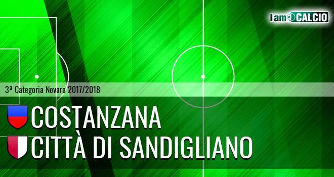 Costanzana - Città di Sandigliano