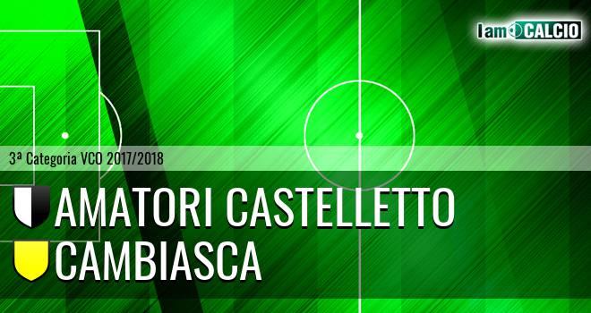 Amatori Castelletto - Cambiasca