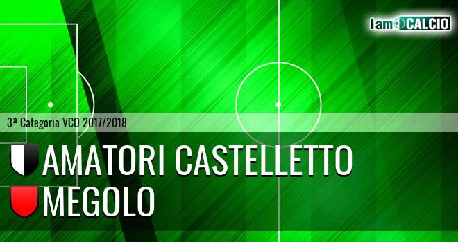 Amatori Castelletto - Megolo