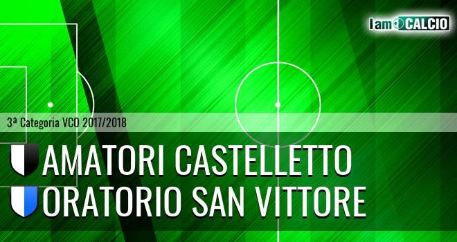 Amatori Castelletto - Oratorio San Vittore